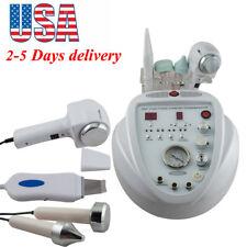 5In1 Diamond Microdermabrasion Ultrasonic Dermabrasion Facial Skin Scrubber 145W