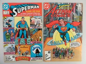 Superman #423 Action Comics #583 Whatever Happened Man Tomorrow Alan Moore DC