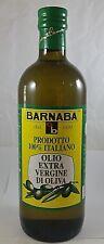 3 Olio EXTRA VERGINE d' OLIVA Olearia BARNABA Made in Italy Lt.1 Bott. 7% SCONTO