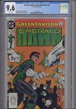 Green  Lantern Emerald Dawn #4  CGC 9.6 DC 1990 Comic: NEW CGC Frame