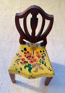 Antique Dollhouse Tynietoy Chair