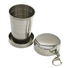 Mini Stainless Steel Portable Outdoor Travel Folding Collapsible Cup Telescopic