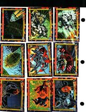 1993 SKYBOX DC Comics Bloodlines - Complete 81-Card Base Set - NEAR MINT