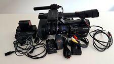 SONY HVR-Z7E Kamera Camcorder Zubehörpaket sehr guter Zustand (s. Fotos)