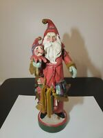 """House of Hatten 1992 Father Christmas Santa Claus Large 18.5"""" Some Damage"""