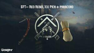 Escape Frm Tarkov: Red Rebel + Paracord Fast Delivery !