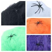 La Terreur Décor De Scène Accessoires Décoratifs Halloween Coton Araignée