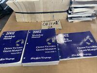 2002 FORD Crown Victoria MERCURY Grand Marquis Service Shop Manual EWD