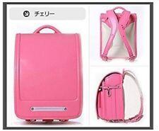 Japanese school bag Randoseru 2014 model Backpacks cherry color NEW From Japan