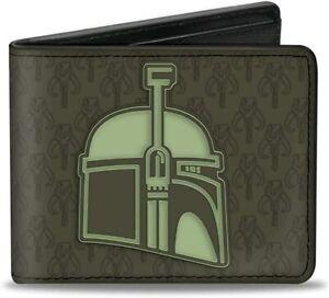 Star Wars Boba Fett Helmet Bi-Fold Wallet