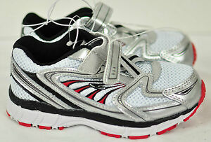 toddler boys shoes Champion size 5 white/red  mesh top traction sole