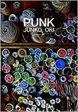 New Embroidery artists Junko Oki Works - PUNK - Art Photo Book Japanese
