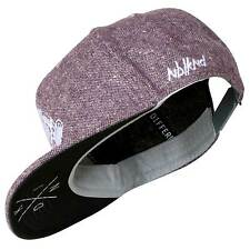 Nebelkind Snapback Cap rosameliert mit Stickerer edel onesize unisex
