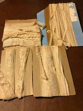 28 yards of vintage lace