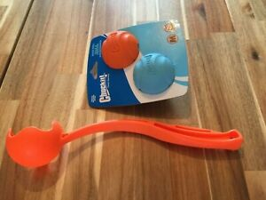 Chuckit Dog Ball thrower and Balls Bundle, New in Packaging