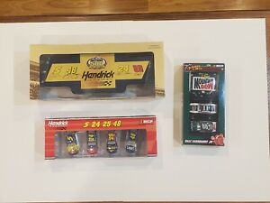 Lot of Hendrick HMS 1/64 Daytona 500 Busch Gordon Earnhardt Jr Johnson Mears Dew