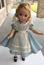 Vintage Madame Alexander Maggie Alice In Wonderland Doll HP 14""