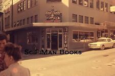 35mm Vintage Slide Nugget Shop Store Old Ford Mustang Car Bicycle People 1965!!!