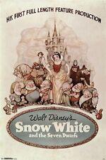 SNOW WHITE - CLASSIC MOVIE POSTER - 24x36 - DISNEY 14784