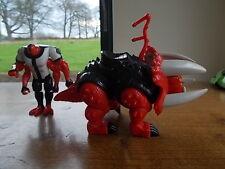 "2 x BEN 10 Action Figure BANDAI 2007 Alien Force VGC 7"" Moving limbs"