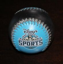 DISNEY COLLECTABLE SOFTBALL BASEBALL-WIDE WORLD OF SPORTS 1997 SILVER/LIGHT BLUE