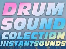 Motif XS ES Drum Kits OVER 1000 Samples Yamaha Hip hop Rnb Dance WAV Sounds NOW!