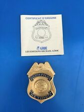 MICHAEL GÖDE USA INSIGNE BADGE SHERIFF Officer Duluth Police retraite Minnesota