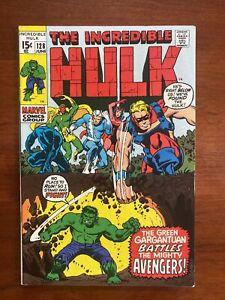 Incredible Hulk #128 (1970) VF 8.0 1st Valkyrie Appearance 🔥HIGH GRADE🔥