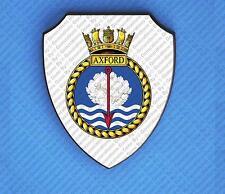 HMS AXFORD WALL SHIELD