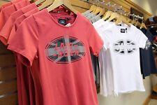 Womens Union Jack Land Rover T-Shirts-