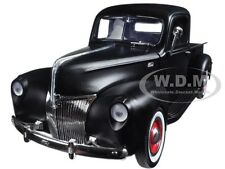 1940 FORD PICKUP MATT BLACK 1:18 DIECAST MODEL CAR BY MOTORMAX 73170
