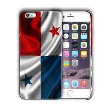 Panama National Flag iPhone 4 4S 5 5S 5c 6 6S 7 8 X XS Max XR 11 Pro Plus Case 4