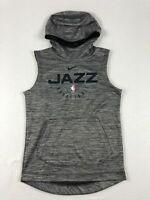 NEW Nike Utah Jazz - Men's Gray Sleeveless  Pullover (Multiple Sizes)