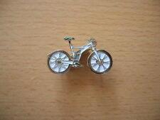 Pin Anstecker E-Bike Elektro Fahrrad Bike Mountainbike weiss Art. 1169 Badge