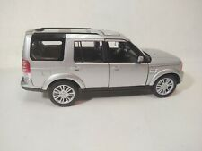 Welly Land Rover Discovery 4 Silver SUV 1:24 Scale Diecast No Mirror dc3282