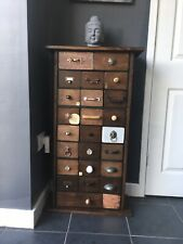 Vintage Apothecary Cabinet