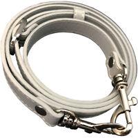 """5/8"""" Grey Purse Strap Adjustable Shoulder Cross Body Replacement Handbag Handle"""