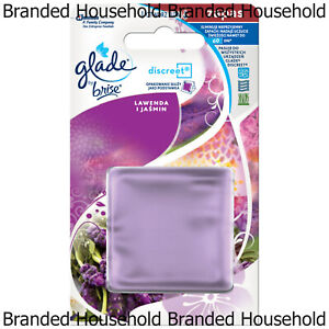 GLADE DISCREET REFILLS AIR FRESHENER OFFICE HOME LAVENDER AND JASMINE 8G