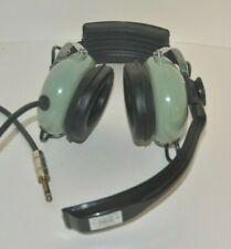 David Clark Aviation Headset Model H5030 12511G-01