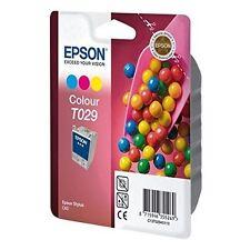 Véritable Original Epson T029 Couleur Cartouche d'encre Epson Stylus C60 C13T02940110