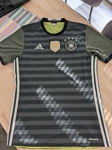 Original adidas DFB Deutschland Auswärtstrikot EURO 2016 Patches Gr.S