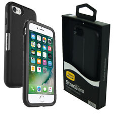 OtterBox Strada Royale Leather Case Cover for iPhone 8/iPhone 7 - Onyx Black NEW