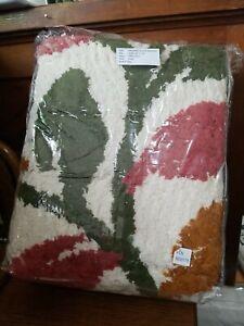 """Sonesta Chenille Cotton  Bedspread, Queen Size NEW VTG 102"""" x 118"""""""