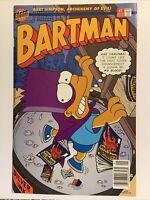 1993 Bongo Comics BARTMAN Bart Simpson Archenemy Of Evil Issue #1 NM/M