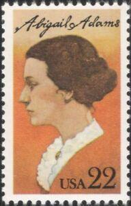 USA 1985 Abigail Adams/Writer/Author/Books/People/History/Politics 1v (us1013)