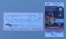 Hedy Lamarr Signed Check, 1990.  JSA Certificate of Authenticity