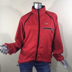Louis Garneau Electra Red Women's Jacket/Vest J09 Cycling Jacket Size Medium
