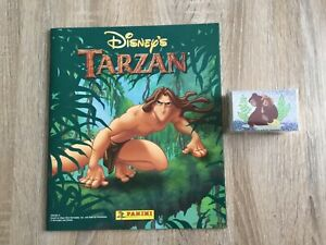 DISNEY'S TARZAN STICKER ALBUM COMPLETE WITH ALL STICKERS (Not Inserted) PANINI