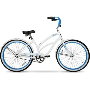 Hyper Bicycles 26 In. Women's Beach Cruiser White Free Shipping New