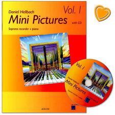 Mini Pictures 1 - Stücke für Sopranblockflöte, Klavier - ACM250 - 9990000331192